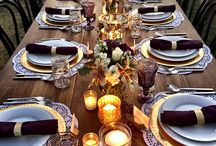 Posh Envy / Chic small budget party design. It's in the details!!