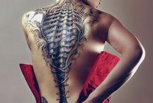 Biomechanoid tattoos