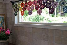 cortinas y mantas