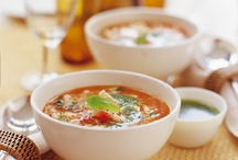 winter-warming soups / A collection of inspirational soup recipes to serve over winter at Greens cafe, Padstow.