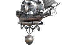 Стальные паруса / Созданный мною - совершенный и бесподобный - флюгер парусник