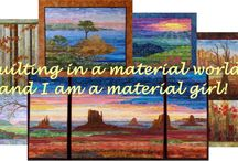 Patchwork and quilting art