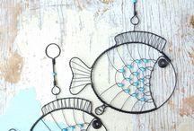 drôtované rybky
