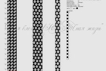 Bead crochet patterns 16-19