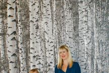 Birch Tree Wallpaper / Are you bored of those birch tree wallpaper stock photos found on every e-commerce website out there?  Check out my customer's photos of birch wallpaper in action, in their own homes!