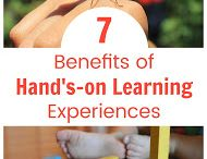 Hands-on Learning Activities for Kids / Engage kids brains with these hands-on learning ideas!
