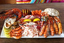 Seafoods platters