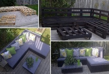 Furniture made from pallets