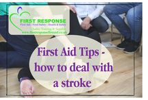 First Aid tips -Dealing with Strokes / Tips and advice on First Aid training for everyone; business owners, childminders, schools, engineering companies, offices, shops and more! This board will cover dealing with strokes
