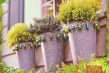 Decoração de Natal / Tudo para deixar o seu jardim mais bonito nesse Natal!