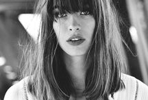 Fringe and bangs
