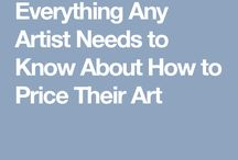 pricing and selling art