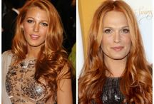 Red Hair Colors / The Best Red Hairstyle ideas