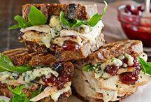 Sandwiches.  Wraps.