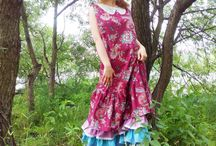Бохо платья