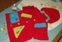 Baby Makes / This board features my knitted makes for babes and toddlers, which can be found on Facebook at X Baby Bisous X, and  will also contain ( only beautiful!) hand crafted makes by others for this age group.