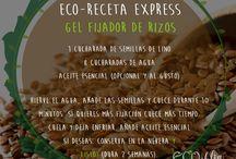 Eco Recetas de Cosmética Natural / Eco recetas express en Ecoblog Nonoa de cosmética natural. Rápidas, fáciles y naturales. www.ecoblognonoa.com