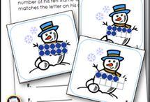 Kindergarten Math Activities / Activities and games to keep math learning fun for your kindergarteners!