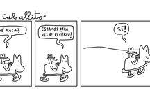 """Viñetas """"El Señor del Caballito"""" by Mariscal / El Señor del Caballito (1970) Historietas. Plumilla y tinta china sobre papel.  #viñetas #comics #art #drawing #JavierMariscal #MariscalStore #ElSeñordelCaballito"""