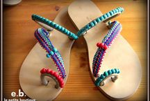 handmade sandals / handmade sandals