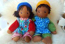 Handmade Custom Dolls by PuppenHandWerk Pärsch / Individuell handgefertigte Wunschpuppen, ganz aus Bio-Naturmaterialien, für Menschenkinder jeden Alters