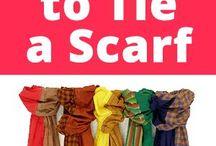 tie ing scarfes