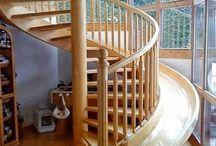 escaleras y resfalines / escaleras choras y resfalines que tendria en mi casa