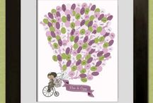 Purple and green wedding theme / Purple and green wedding theme balloons lilac and mint