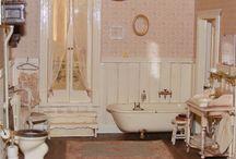 Dollhouse bathroom.