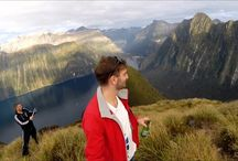 New Zealand / I live here !! South Island, Queenstown, Te Anau, Milford Sound, Southland