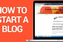 How To Make A Blog / Here you will find everything you need to create your own blog online.