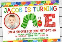 Brooke Hungry Caterpillar 1st Birthday