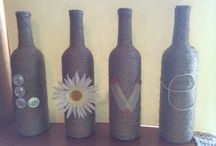 My DIY projects / Things I've made that I've seen on Pinterest or elsewhere.  / by Mickala Schneider