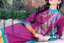 Plush Embroidered Kurtis Eid Collection by Riaz Arts 2015