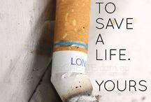 Stop Smoking / Motivation, tips and help to stop smoking.