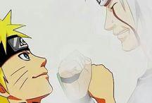 Jiraiya and Naruto