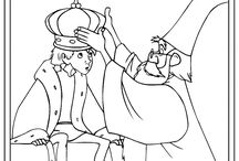The Sword In The Stone Coloring Pages