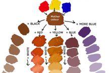 színek keverése