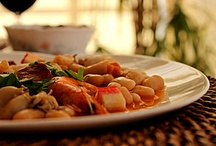 Beans / seafood
