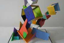 Art: Cardboard Sculpture