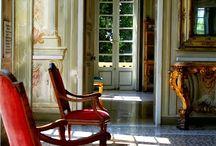 New classic interiors / Interior design decoration