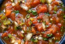 Salsa Recipes / by Heather