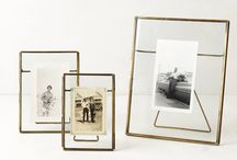 .glass photo frame