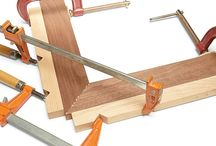 WOODWORKING - CLAMPS & CLAMPING
