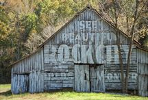 Barns...Farms... / Something about old Barns. I love to smell Barns.....
