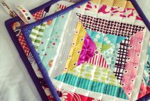 Hot Pads, Mug Rugs, Table runners, Placemats / by Ellie Guhl