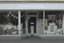 Our Stores / Please do come and visit us! We have 7 very beautiful different stores in Chichester, Tunbridge Wells, New Alresford, Salcombe, Marlborough (Wiltshire), Marlow and Cambridge.