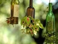 Wine Bottle Art / by Monda DeWeese
