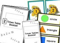 Maths Areas / Maths Displays  - Teaching Ideas -  Multi- sensory Activities  for Children