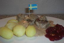 Schwedische Rezepte / eine Rezeptesammlung mit typisch schwedischen Rezept-Ideen